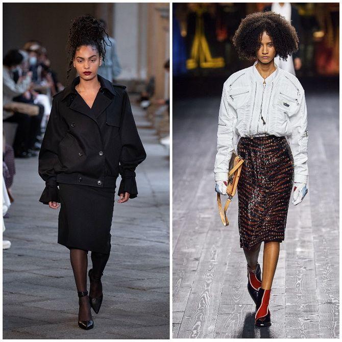 Елегантність, про яку ми забули: жіночі костюми зі спідницею повертаються в 2021 році 30