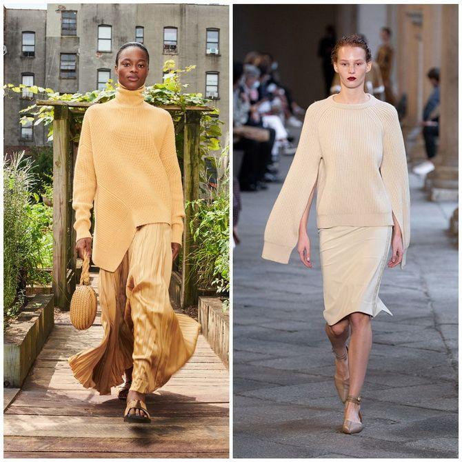 Елегантність, про яку ми забули: жіночі костюми зі спідницею повертаються в 2021 році 32