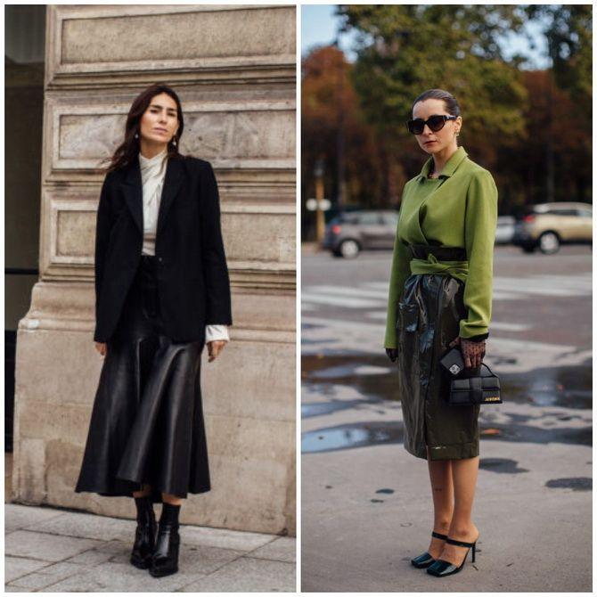 Елегантність, про яку ми забули: жіночі костюми зі спідницею повертаються в 2021 році 8