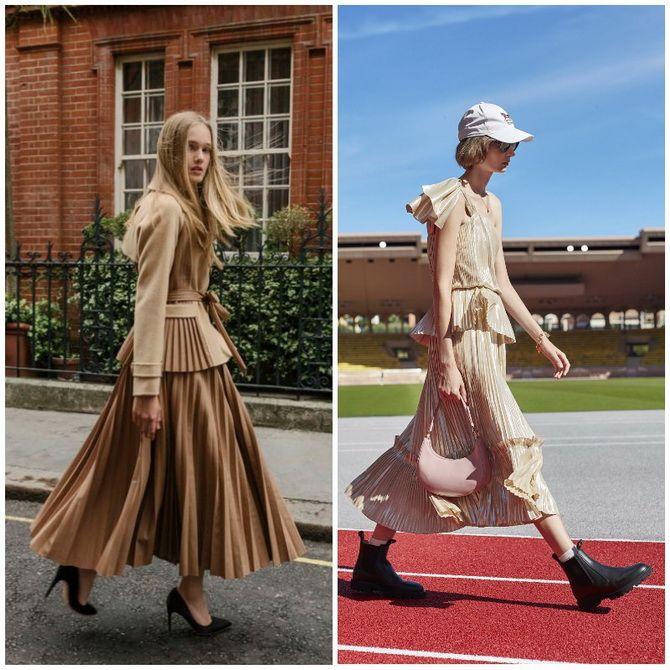 Елегантність, про яку ми забули: жіночі костюми зі спідницею повертаються в 2021 році 9