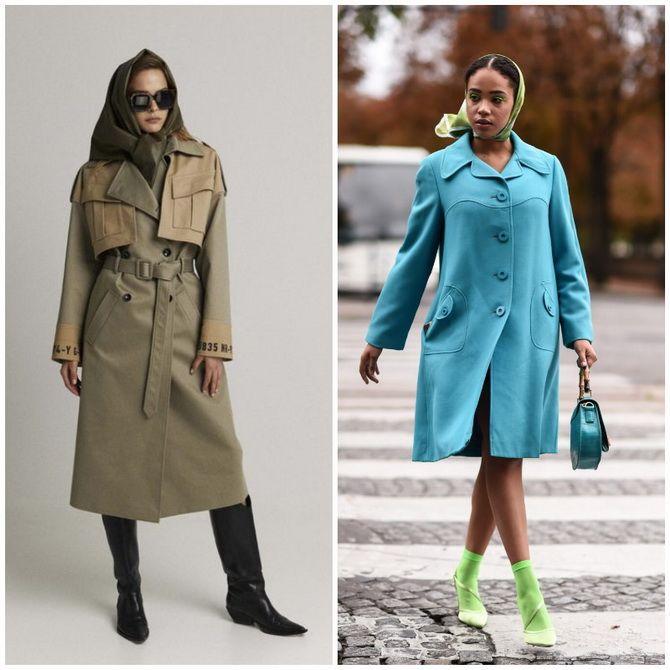 Косынка на голову: как носить модный аксессуар 2021 года 10