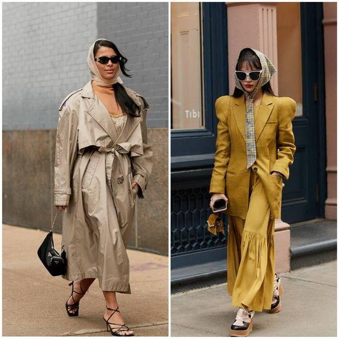 Косынка на голову: как носить модный аксессуар 2021 года 2
