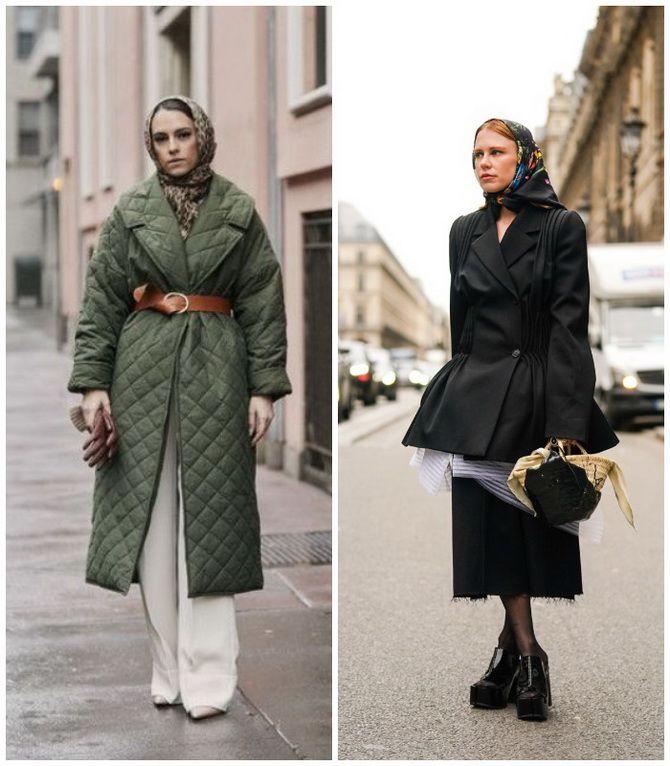 Косынка на голову: как носить модный аксессуар 2021 года 25