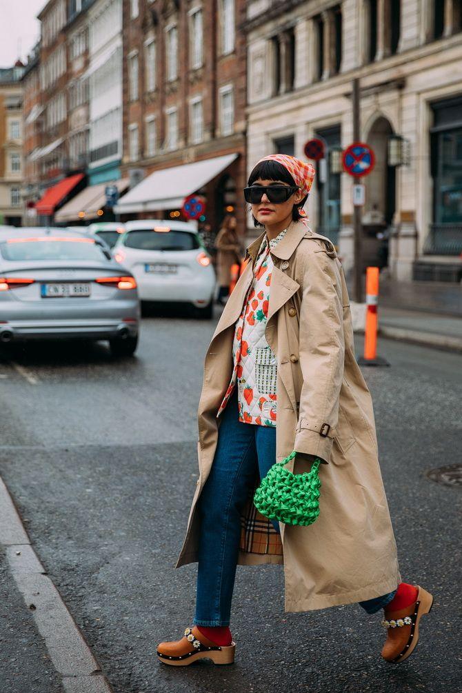 Косынка на голову: как носить модный аксессуар 2021 года 8