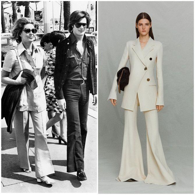 Модные тренды из 70-х, которые мы с удовольствием носим сейчас 13