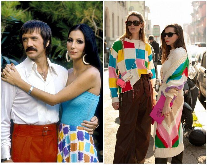 Модные тренды из 70-х, которые мы с удовольствием носим сейчас 21