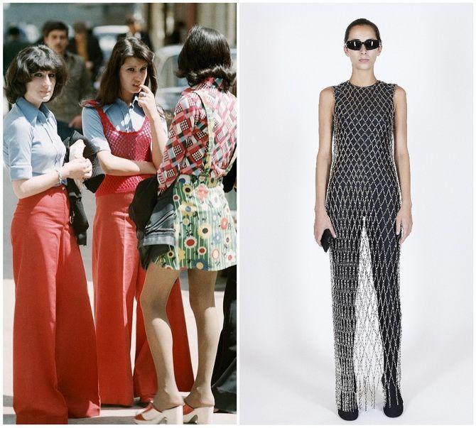 Модные тренды из 70-х, которые мы с удовольствием носим сейчас 28