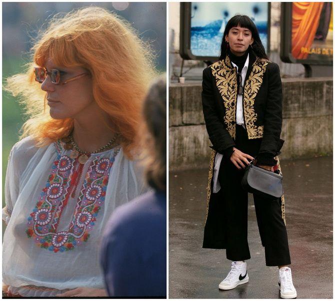 Модные тренды из 70-х, которые мы с удовольствием носим сейчас 30