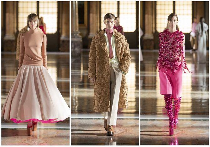 Неделя Высокой моды в Париже: показы Chanel, Valentino, AZ Factory, и Giorgio Armani Privé 10