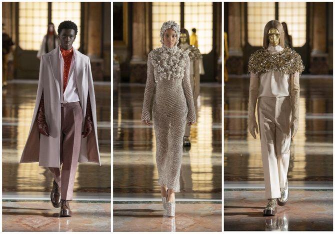 Неделя Высокой моды в Париже: показы Chanel, Valentino, AZ Factory, и Giorgio Armani Privé 11
