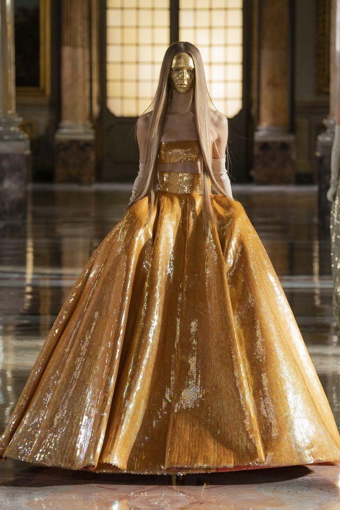 Неделя Высокой моды в Париже: показы Chanel, Valentino, AZ Factory, и Giorgio Armani Privé 12