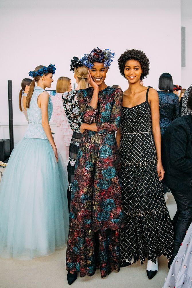Неделя Высокой моды в Париже: показы Chanel, Valentino, AZ Factory, и Giorgio Armani Privé 5
