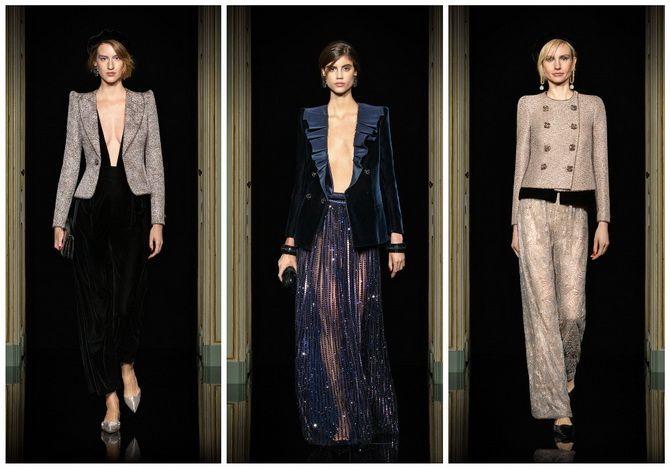 Неделя Высокой моды в Париже: показы Chanel, Valentino, AZ Factory, и Giorgio Armani Privé 7
