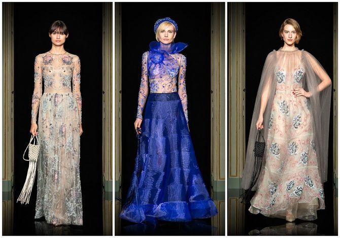Неделя Высокой моды в Париже: показы Chanel, Valentino, AZ Factory, и Giorgio Armani Privé 8