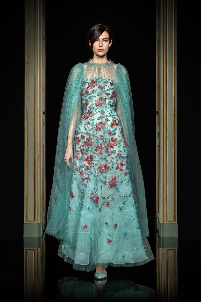 Неделя Высокой моды в Париже: показы Chanel, Valentino, AZ Factory, и Giorgio Armani Privé 9