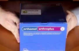 Витамины Orthomol Arthro plus