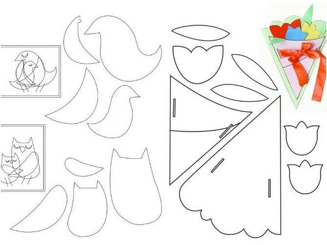 Листівка на 8 березня своїми руками: добірка найкращих майстер-класів та свіжих ідей 8