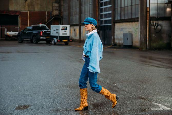Прямые джинсы: с чем носить вечную классику в 2021 году? 1