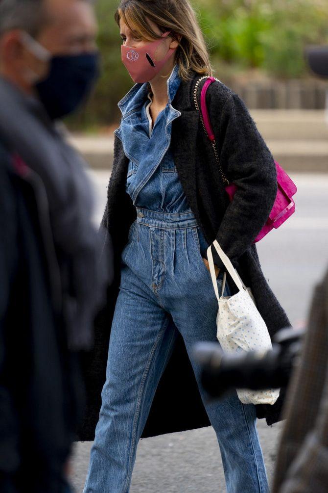 Прямые джинсы: с чем носить вечную классику в 2021 году? 10