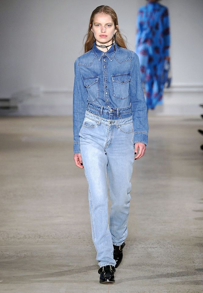 Прямые джинсы: с чем носить вечную классику в 2021 году? 11
