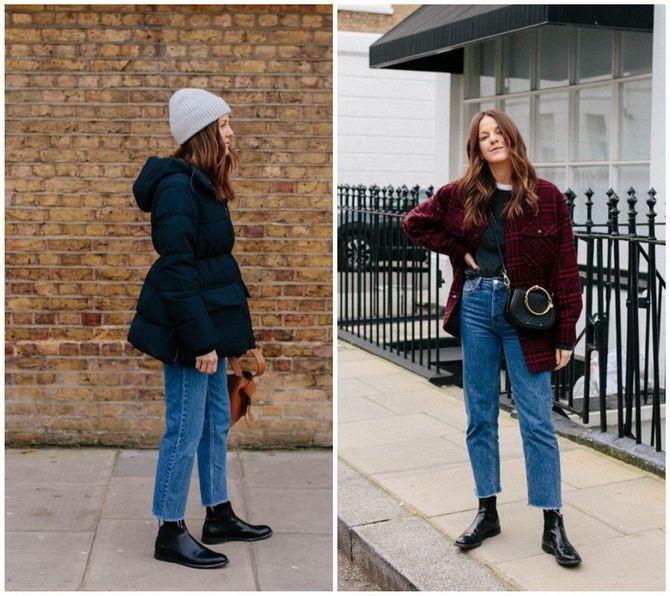 Прямые джинсы: с чем носить вечную классику в 2021 году? 13