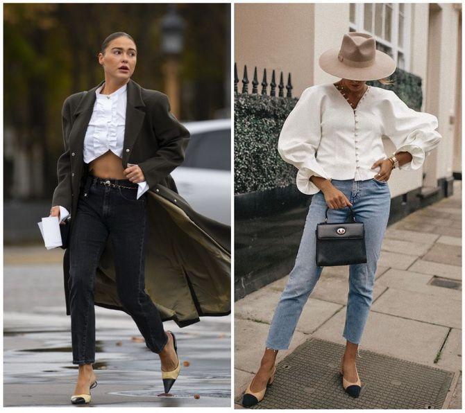 Прямые джинсы: с чем носить вечную классику в 2021 году? 14