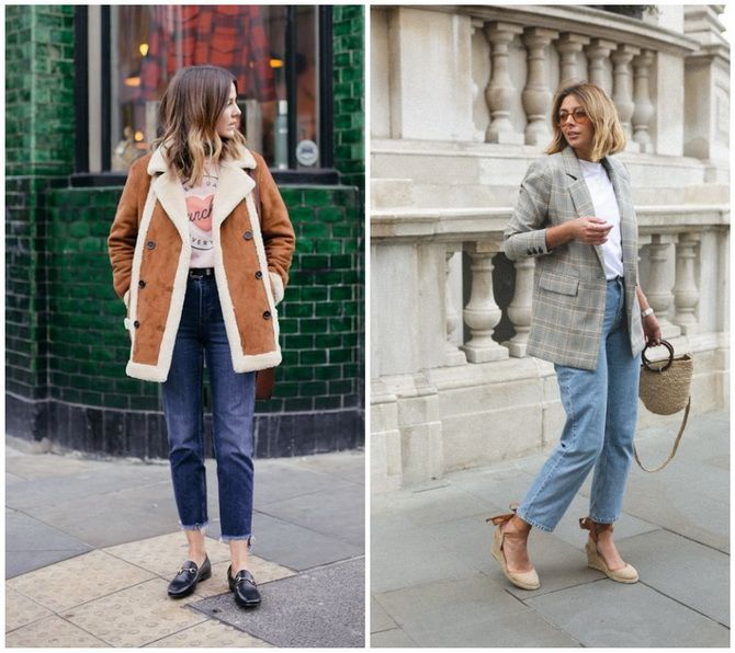 Прямые джинсы: с чем носить вечную классику в 2021 году? 15
