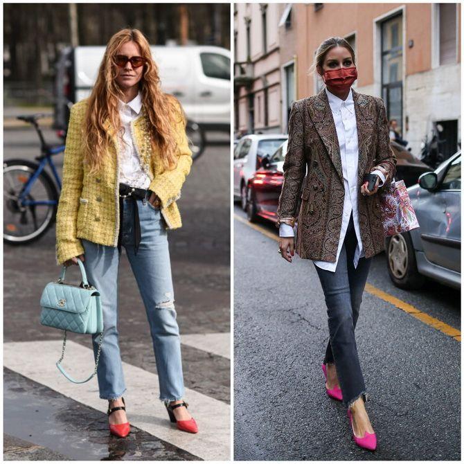 Прямые джинсы: с чем носить вечную классику в 2021 году? 17