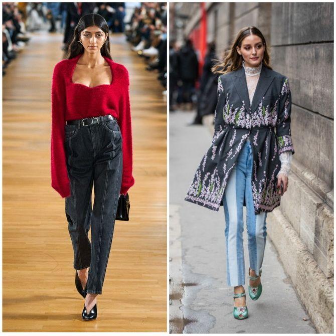 Прямые джинсы: с чем носить вечную классику в 2021 году? 18