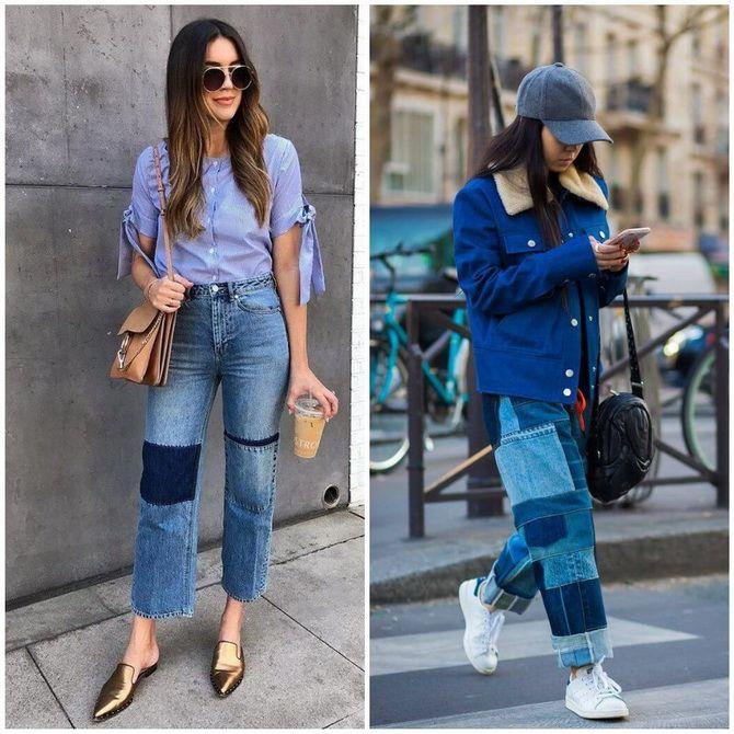 Прямые джинсы: с чем носить вечную классику в 2021 году? 19