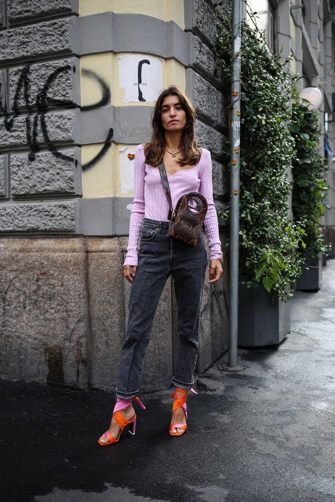 Прямые джинсы: с чем носить вечную классику в 2021 году? 2