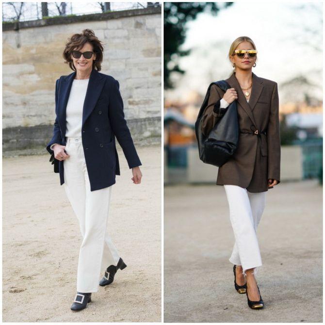 Прямые джинсы: с чем носить вечную классику в 2021 году? 22