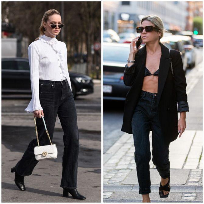 Прямі джинси: з чим носити вічну класику в 2021 році? 23