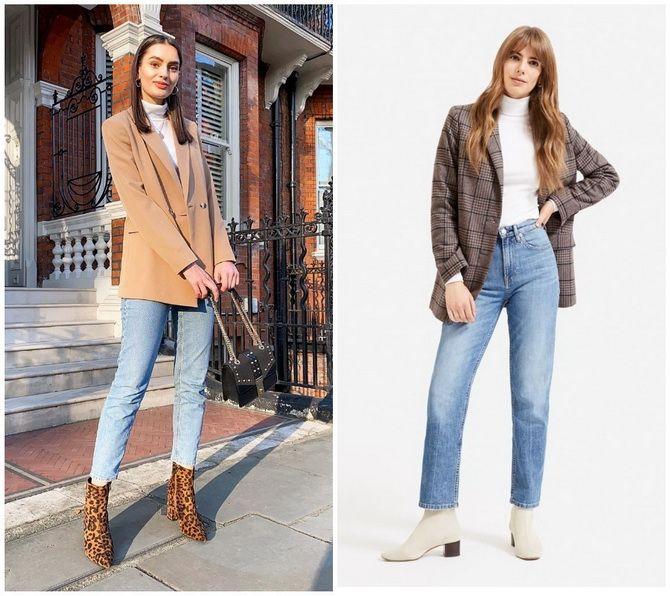 Прямые джинсы: с чем носить вечную классику в 2021 году? 25
