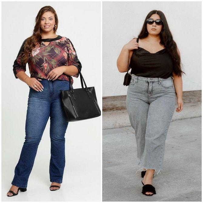 Прямые джинсы: с чем носить вечную классику в 2021 году? 27