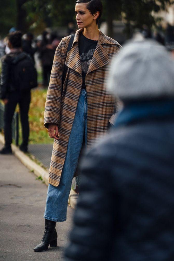 Прямые джинсы: с чем носить вечную классику в 2021 году? 28