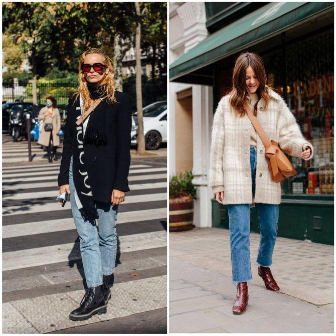 Прямые джинсы: с чем носить вечную классику в 2021 году? 8
