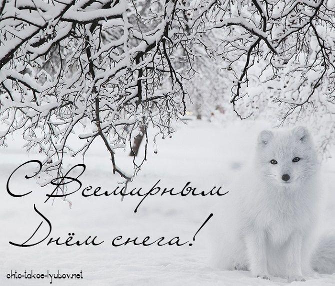Всемирный день снега – крутые поздравления друг другу 4