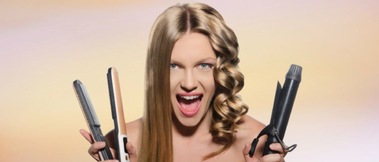Секреты модных укладок волос феном, утюжком, плойкой