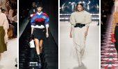 Свитер с юбкой: самые модные сочетания зимы