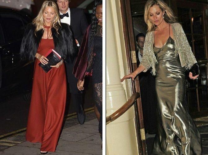 Як носити вечірні сукні взимку: луки з верхнім одягом 5