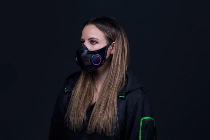 Razer представила Smart-маску для борьбы с пандемией 1