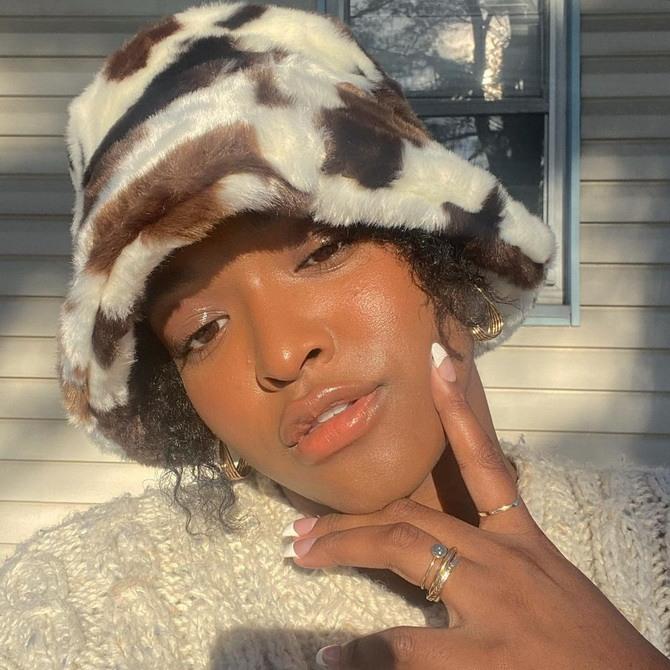 Меховая панама – главная альтернатива зимней шапке 13