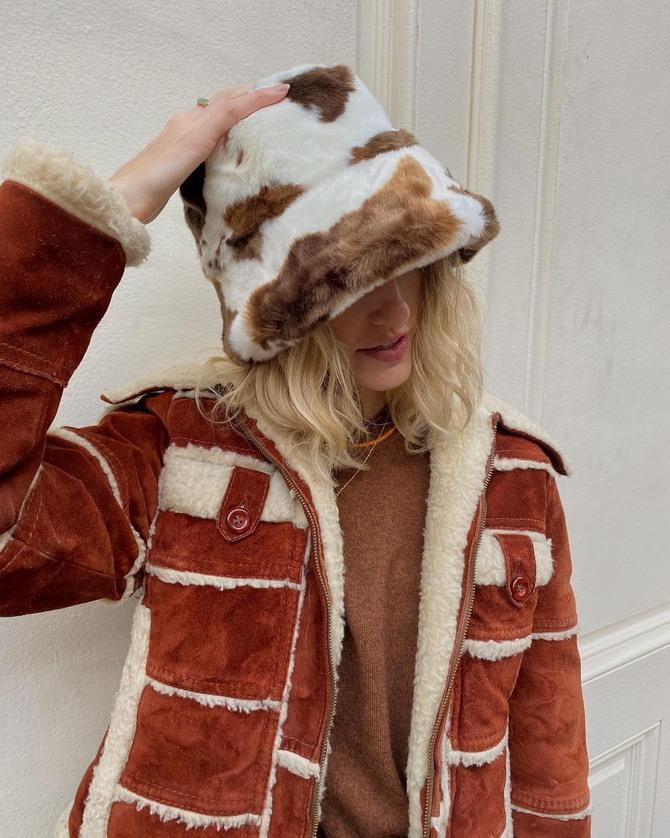 Меховая панама – главная альтернатива зимней шапке 14