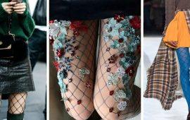 Как носить колготы в сетку, чтобы не выглядеть вульгарно