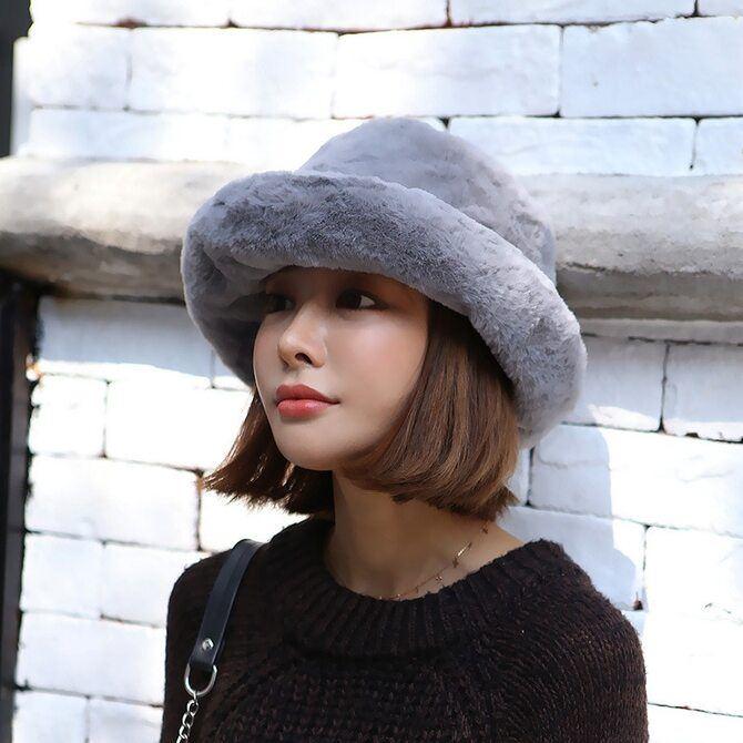 Меховая панама – главная альтернатива зимней шапке 10