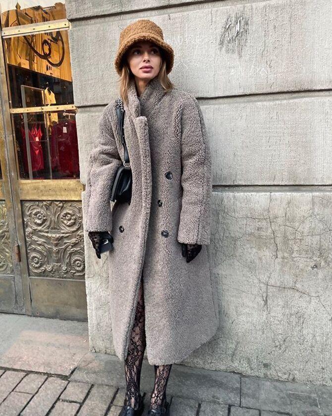 Меховая панама – главная альтернатива зимней шапке 11