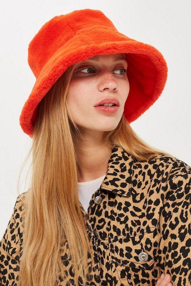 Меховая панама – главная альтернатива зимней шапке 12