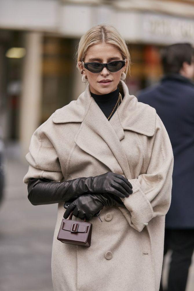 Високі рукавички – відмінне доповнення образу в холодний сезон 19