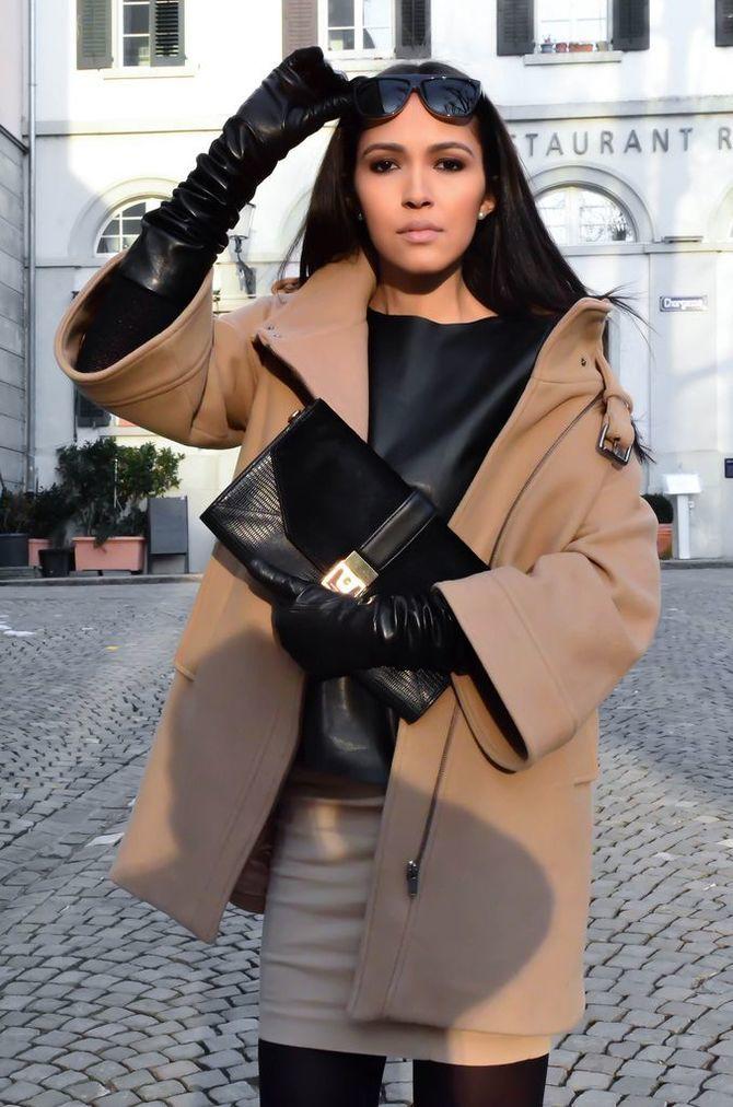 Високі рукавички – відмінне доповнення образу в холодний сезон 25